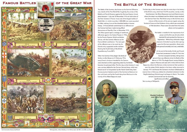 The Great War, Battle of the Somme