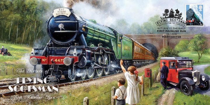 Flying Scotsman, Return to Steam - First Mainline Run