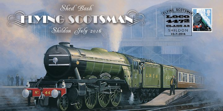 Flying Scotsman, Shed Bash Shildon