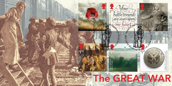 The Great War, Ambulance Train - full set