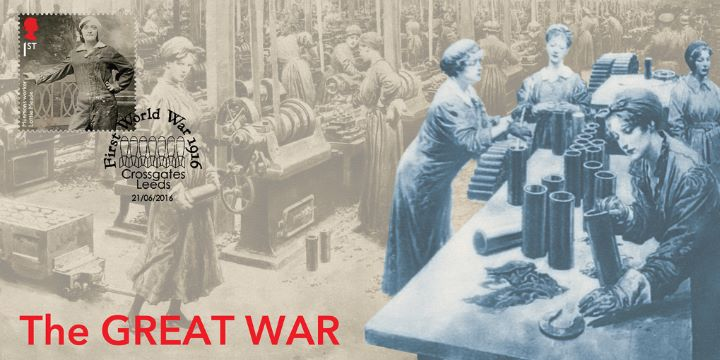 The Great War, Women in a munitions factory