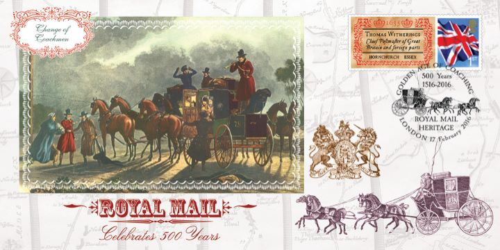 Mail Coach Series No.5, Change of Coachmen