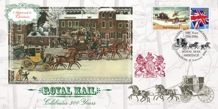 Mail Coach Series No.6, Approach to Christmas