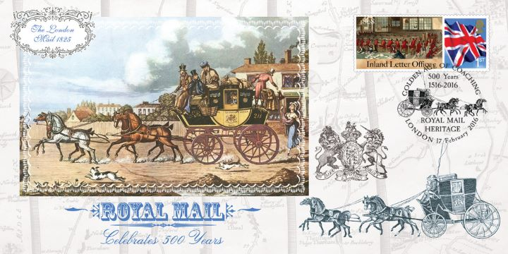 Mail Coach Series No.7, The London Mail