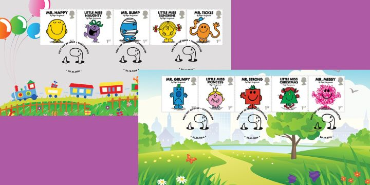 Mr Men & Little Miss, Pair of Covers