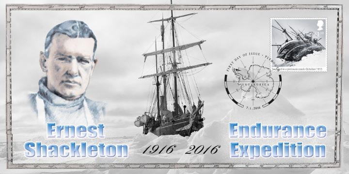 Shackleton and the Endurance Expedition, Endurance stuck in ice