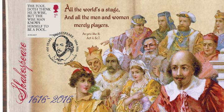 Shakespeare, All the world's a stage.....