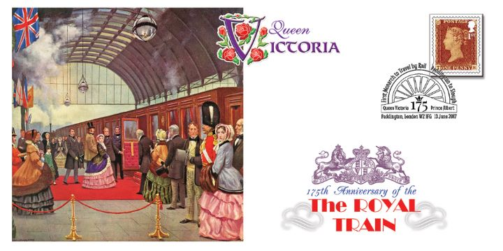 First Monarch to Travel by Train, Queen Victoria
