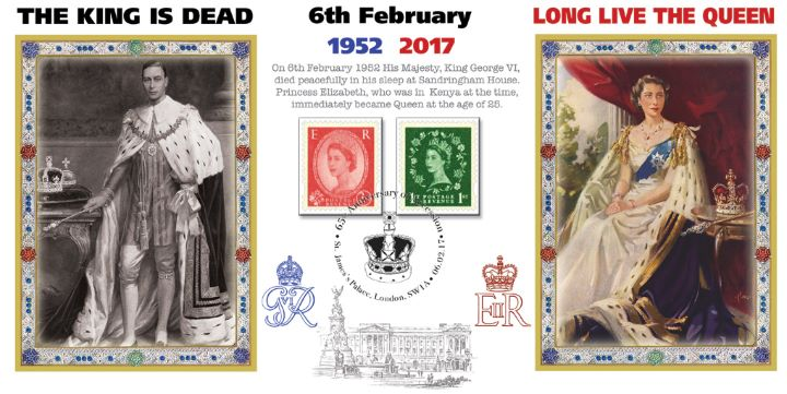 65th Anniversary of Queen's Accession, The King is Dead - Long Live The Queen