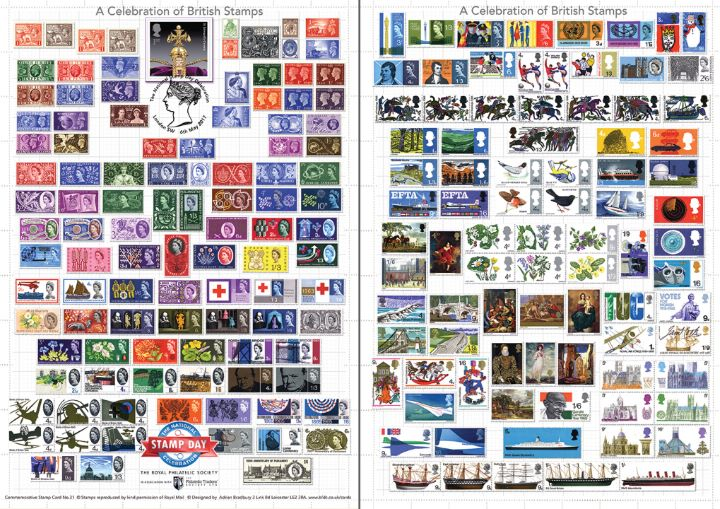National Stamp Day, A Celebration of British Stamps
