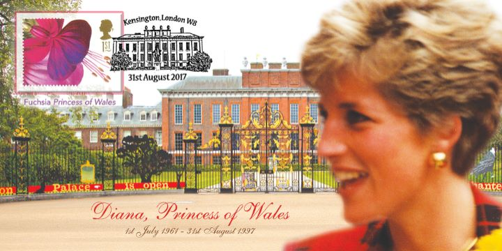 Diana, Princess of Wales, Kensington Palace