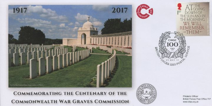 War Graves Commission, Tyne Cot War Cemetery