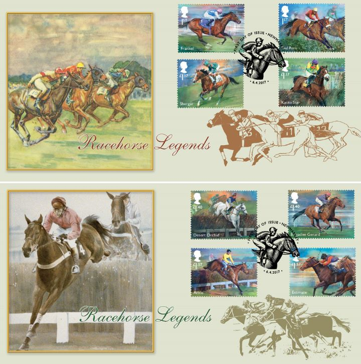 Racehorse Legends, Save £11 when you buy the pair