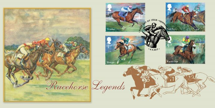 Racehorse Legends, Frankel, Red Rum, Shergar & Kauto Star