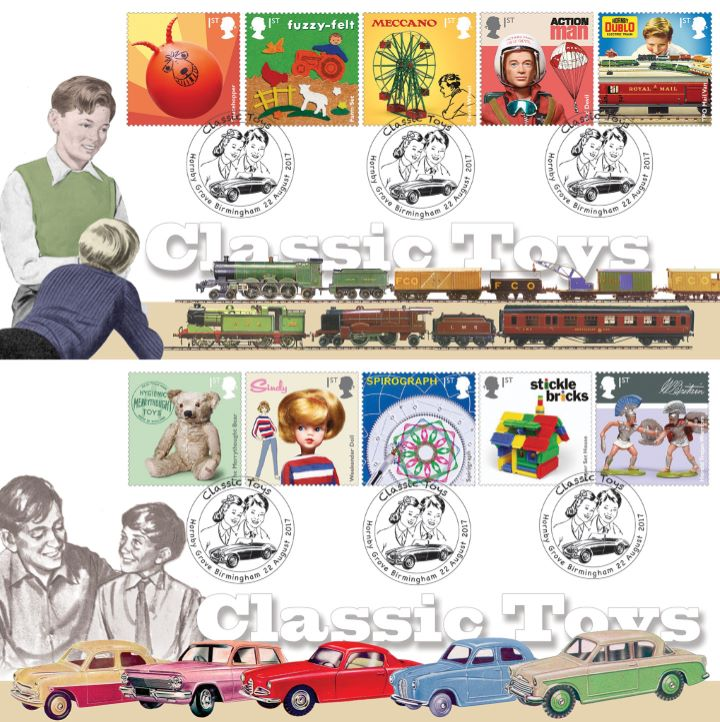 Classic Toys, Trains and Cars