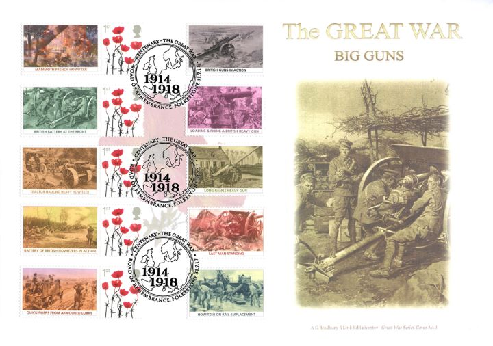 Great War: Big Guns, British Battery at the Front Line