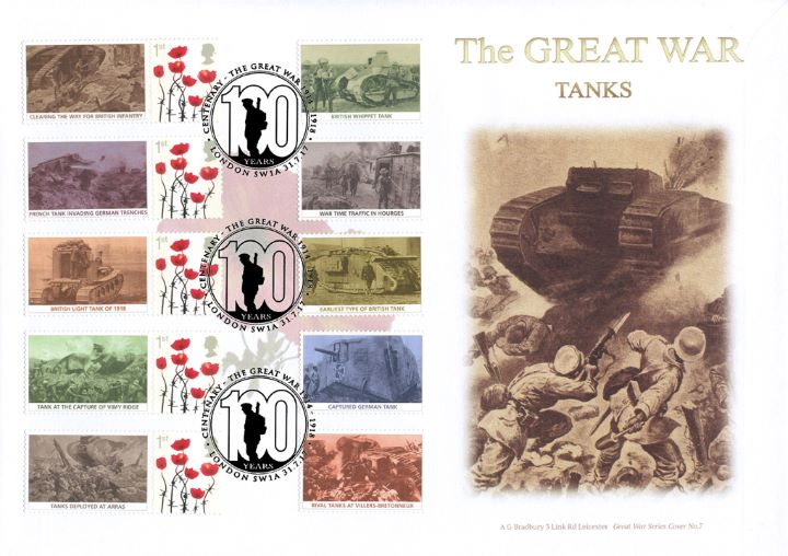 Great War: Tanks, Clearing the way for British Infantry
