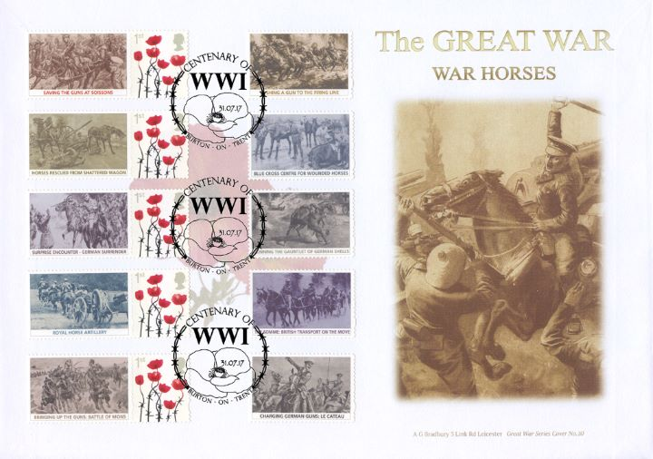 Great War: War Horses, Charge of the Ninth Lancers