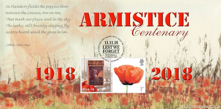 Take up the Sword of Justice, Armistice Centenary