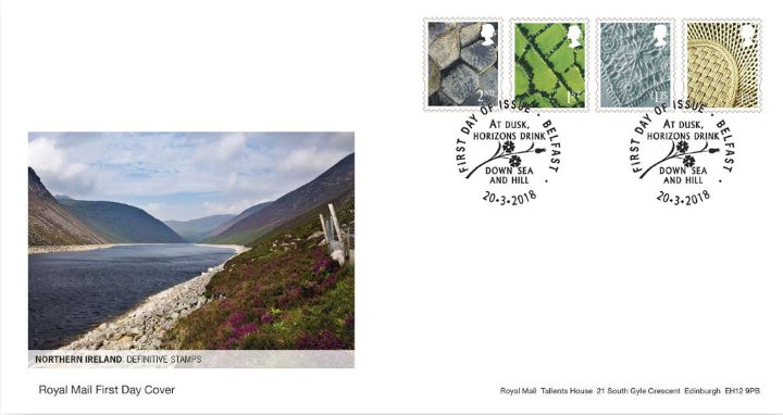 Northern Ireland 2nd, 1st, £1.25 £1.45, Lough and Mountains