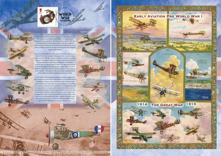 The Great War, History of the Royal Flying Corps