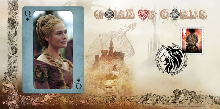 Game of Thrones: Miniature Sheet, Game of Cards
