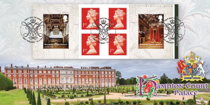 Self Adhesive: Hampton Court, South Front