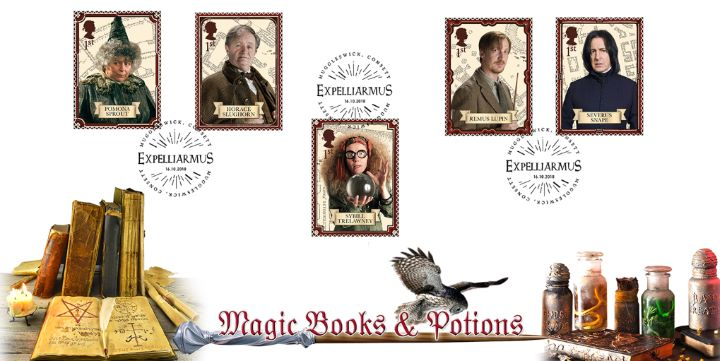 Harry Potter: Miniature Sheet, EXPELLIARMUS