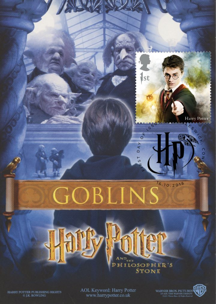 Harry Potter, Goblins promotion postcard