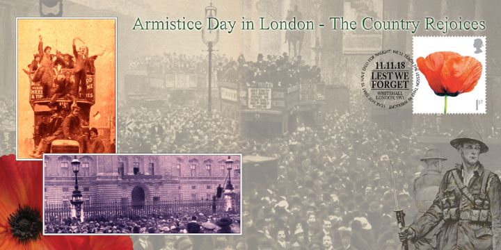 Armistice Day in London, The Country Rejoices