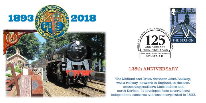 Midland & Great Northern Railway , 125th Anniversary