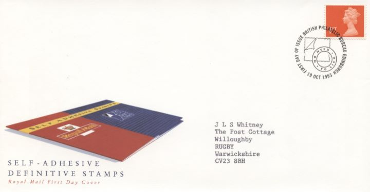 Machins (EP): Self Adhesive Definitive: 1st Flame, Stamp Booklet