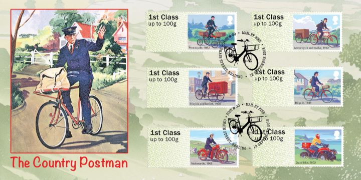 Mail by Bike, The Country Postman