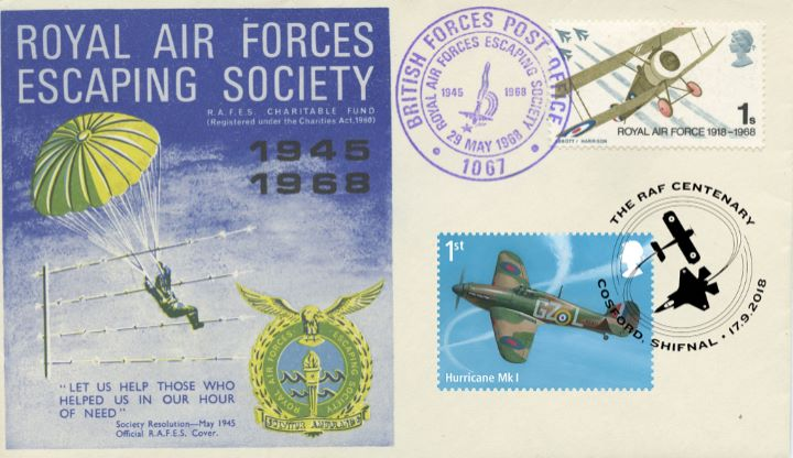 RAF Centenary, Double-dated 50th Anniversary 01