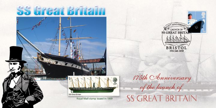 Launch of the SS Great Britain, 175th Anniversary