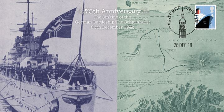 The Sinking of the Scharnorst, 75th Anniversary