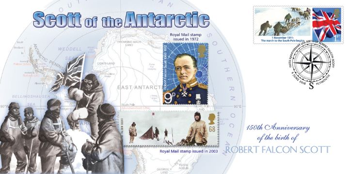 Scott of the Antarctic, 150th Anniversary of the Birth of Robert Falcon Scott