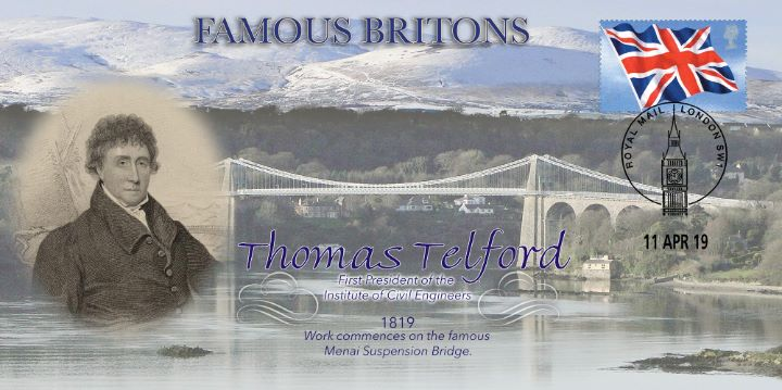 Thomas Telford, Menai Suspension Bridge