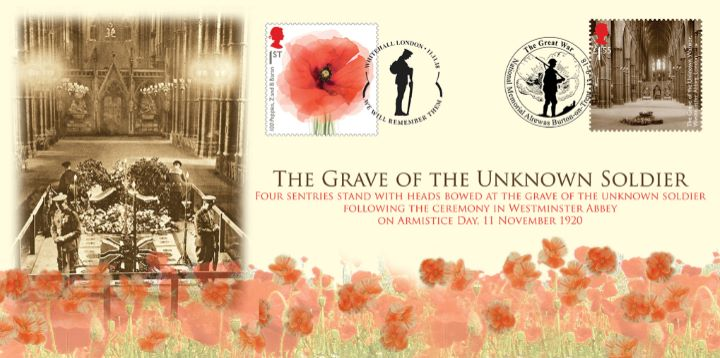 Grave of the Unknown Soldier, Double dated cover