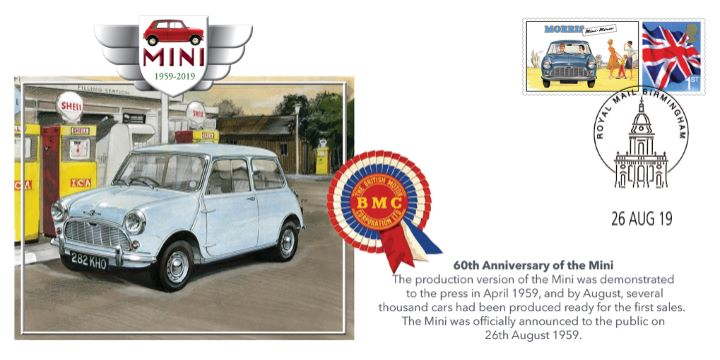 60th Anniversary of the Mini, First Day of Sales to the Public