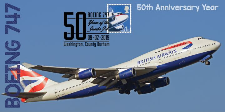 Boeing 747, 50th Annivesary Year