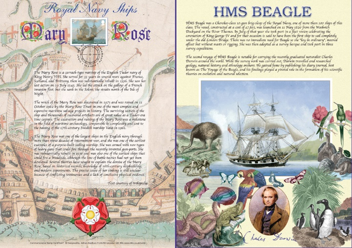 Royal Navy Ships, Mary Rose & HMS Beagle