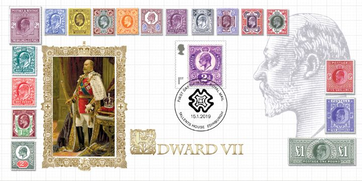 Stamp Classics: Miniature Sheet, Classic Edward VII Stamps