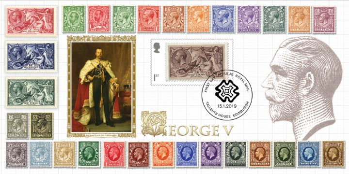 Stamp Classics: Miniature Sheet, Classic George V Stamps