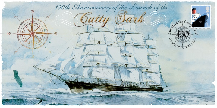 Cutty Sark, 150th Anniversary of Launch