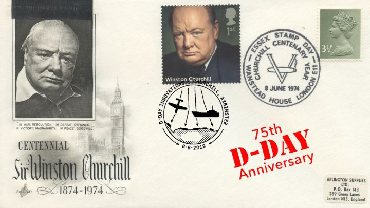 D-Day, Churchill Centenary Year