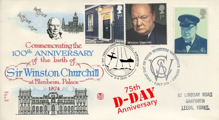D-Day, Winston Churchill Centenary