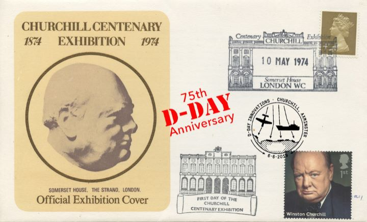D-Day, Churchill Centenary Exhibition