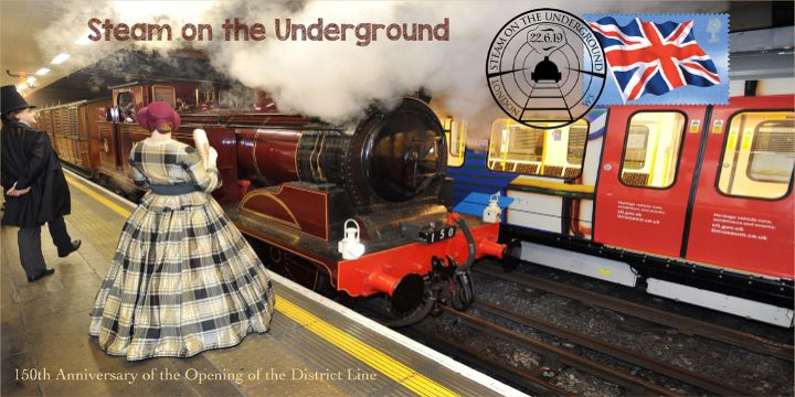 Steam on the Underground, 150th Anniversary of the District Line