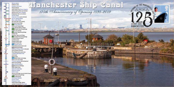 Manchester Ship Canal, 175th Anniversary of Opening